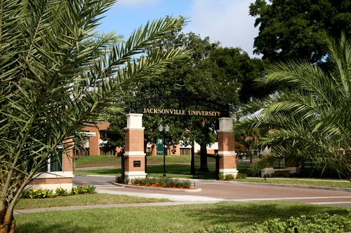 Jacksonville campus entrance
